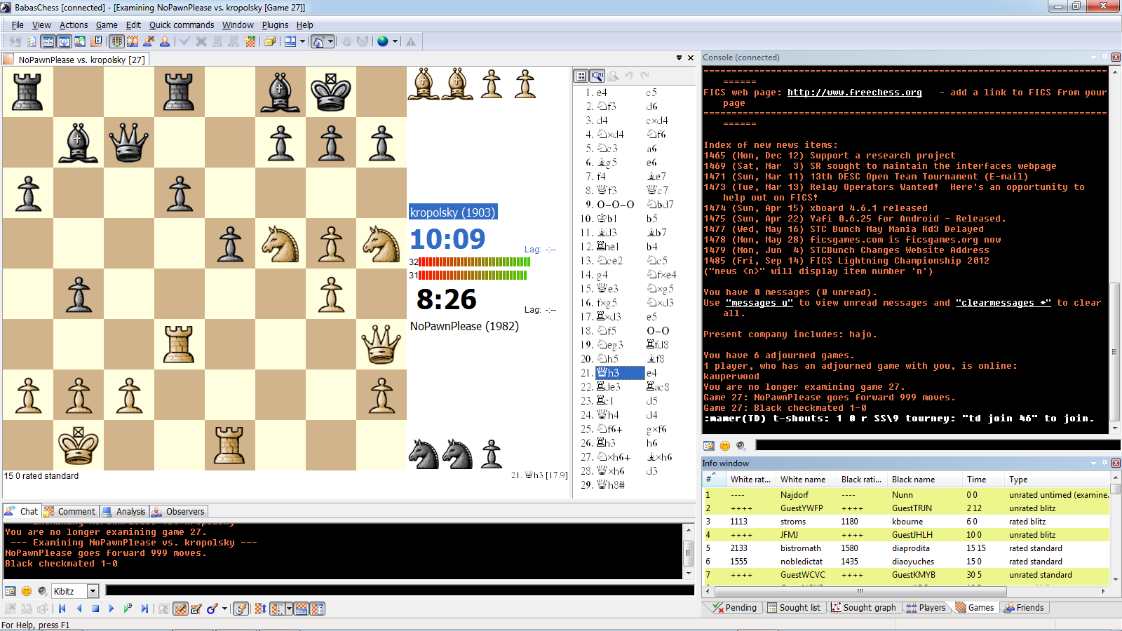 Zarkon Fischer's Guide to Chess Software - The best places to play